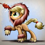 applejack costume lion ruhisu