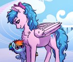 bow filly firefly g1 lopoddity rainbow_dash