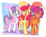 apple_bloom cutie_mark_crusaders highres poppyr0ckz scootaloo sweetie_belle