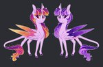 australian-senior highres princess_twilight redesign twilight_sparkle