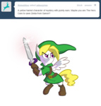 ask asksurprise crossover g1 generation_leap i_shall_not_use_my_hooves_as_hands link surprise sword the_legend_of_zelda weapon willdrawforfood1