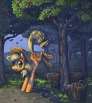 applejack apples barrel dimespin