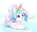 ende26 glasses princess_celestia water