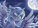 moon princess_luna the-wizard-of-art