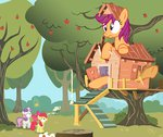 anarchemitis apple_bloom big clubhouse cutie_mark_crusaders highres magic potion scootaloo sweetie_belle
