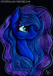 highres julunis14 princess_luna traditional_art