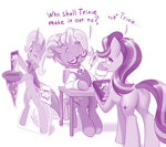 book clothes dstears glasses magic pen starlight_glimmer the_great_and_powerful_trixie