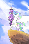 parody princess_celestia princess_twilight sayuri1314 the_lion_king twilight_sparkle