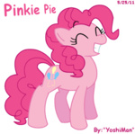 pinkie_pie transparent yoshiman