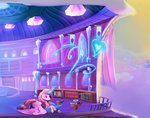 book cloud cup heart highres magic princess_cadance viwrastupr