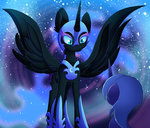 blazemizu highres nightmare_moon princess_luna