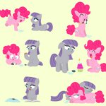 book candle chrisrainicorn cupcake filly maud_pie pinkie_pie rock