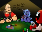 artist_unknown cards comic crossover heavy homestar_runner i_shall_not_use_my_hooves_as_hands poker poker_night_at_the_inventory princess_luna strongbad team_fortress_2