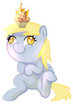 chibi crown derpy_hooves muffin pepooni transparent