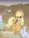 applejack crossover dan_shive fallout gun ponified revolver super_mutant weapon