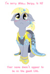 baww c-puff derpy_hooves dress emotional_blackmail gala_dress sad tears transparent