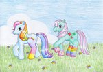 g3 minty normaleeinsane rainbow_dash_(g3) socks