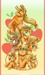 applejack baby discordified humanized inuhoshi-to-darkpen