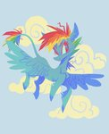astro_eden cloud highres rainbow_dash