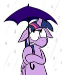 karpet-shark princess_twilight snow twilight_sparkle umbrella
