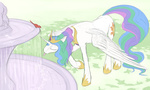 bird fountain jakneurotic princess_celestia