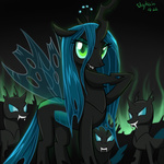 changeling queen_chrysalis skykain