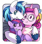 colt ende26 filly princess_cadance shining_armor twilight_sparkle young