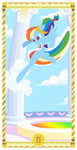 border cloudsdale dress gala_dress janeesper rainbow_dash tarot
