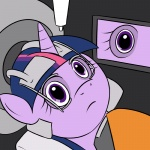 crossover dead_space kloudmutt twilight_sparkle