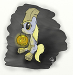 costume dennyhooves derpy_hooves halloween paper_bag pumpkin