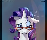Post 66032, tags: black_bars, glasses, highres, rarity, skyline19, rating:Safe, score:6, user:Geomancing