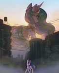 highres mirroredsea princess_celestia twilight_sparkle