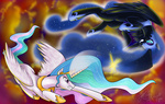 nightmare_moon princess_celestia recycletiger