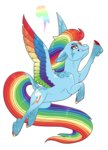 absurdres highres jackiebloom rainbow_dash rainbow_power