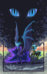 adeptus-monitus highres princess_luna queen_chrysalis
