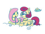 cloud flutterluv fluttershy mrs_shy zephyr_breeze