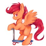 galaxyvoyage scootaloo scooter