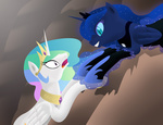 nightmare_moon princess_celestia princess_luna the_lion_king yokogumo