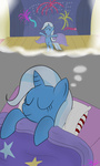 absurdres bed highres mikoruthehedgehog sleeping the_great_and_powerful_trixie
