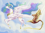 asterdog horselike philomena princess_celestia