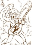 equestria_girls guitar humanized jowybean sketch sonata_dusk