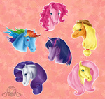 applejack fluttershy horselike main_six naira-wolf-satyr pinkie_pie rainbow_dash rarity twilight_sparkle