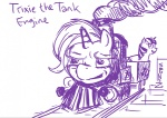 livestream not_that_kind_of_shipping spectralunicorn the_great_and_powerful_trixie thomas_the_tank_engine twilight_sparkle woomod
