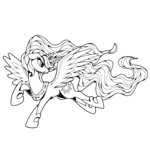 ponedraws princess_celestia