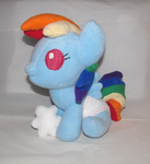auction baby for_sale gypmina photo plushie rainbow_dash toy