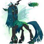 dingobreath queen_chrysalis