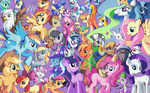 angel apple_bloom applejack background_ponies big_macintosh braeburn cheerilee chief_thunderhooves cutie_mark_crusaders derpy_hooves diamond_mint diamond_tiara dinky_hooves fluttershy gilda golden_harvest guard_pony gummy karzahnii lightning_bolt little_strongheart lyra_heartstrings madame_leflour main_six minuette octavia_melody opalescence owlowiscious parasprite philomena photo_finish pinkie_pie princess_celestia princess_luna rainbow_dash rarity sapphire_shores scootaloo secret_butt_fun silver_spoon snailsquirm snipsy_snap spike spitfire sweetie_belle sweetie_drops the_great_and_powerful_trixie time_turner twilight_sparkle vinyl_scratch winona wonderbolts zecora