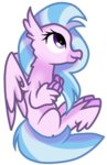 rainboweevee-da silverstream