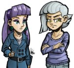 humanized limestone_pie maud_pie siblings the_artrix