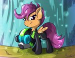 absurdres highres rainihorn scootaloo